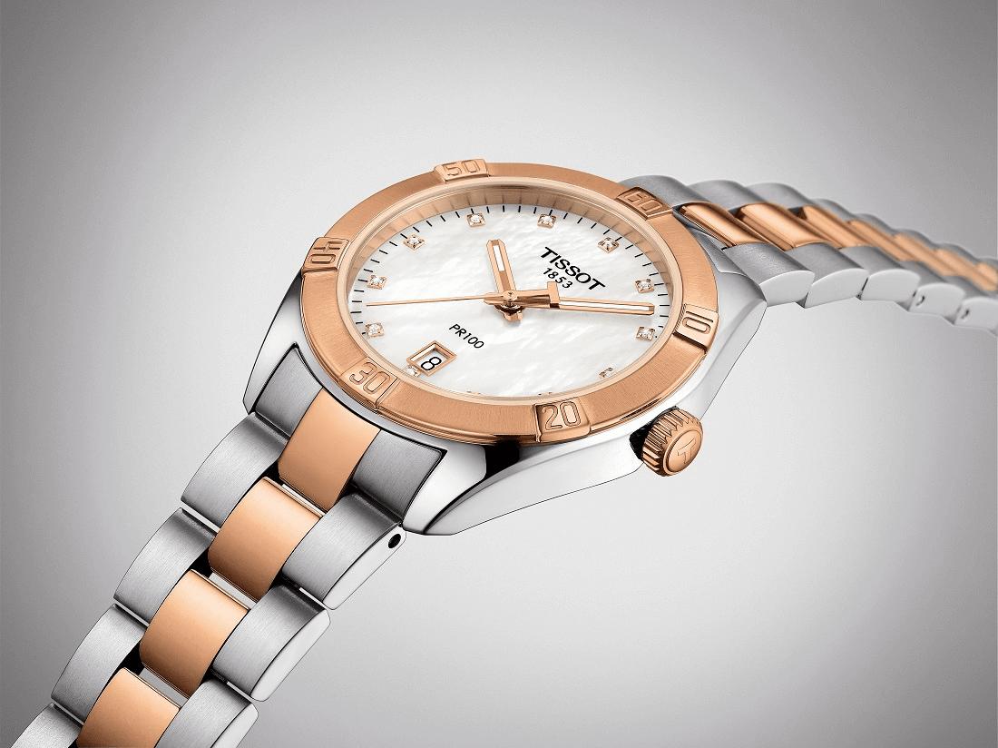 đồng hồ nữ Tissot PR 100 Lady Sport Chic