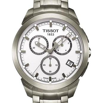 Tissot Titanium T069.417.44.031.00 Chronograph Watch 43mm
