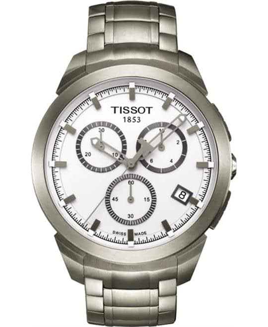 Tissot Titanium T069.417.44.031.00 Chronograph Watch 43mm