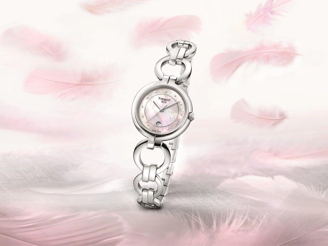 đồng hồ nữ Tissot Flamingo chính hãng cao cấp