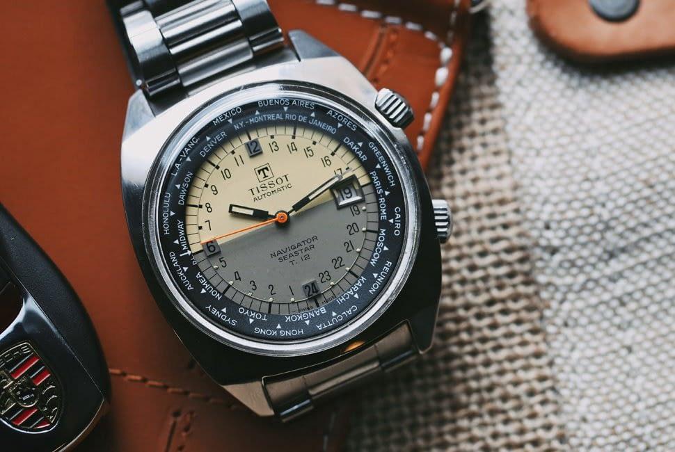 Đồng hồ Tissot Navigator World Time Gear Patrol