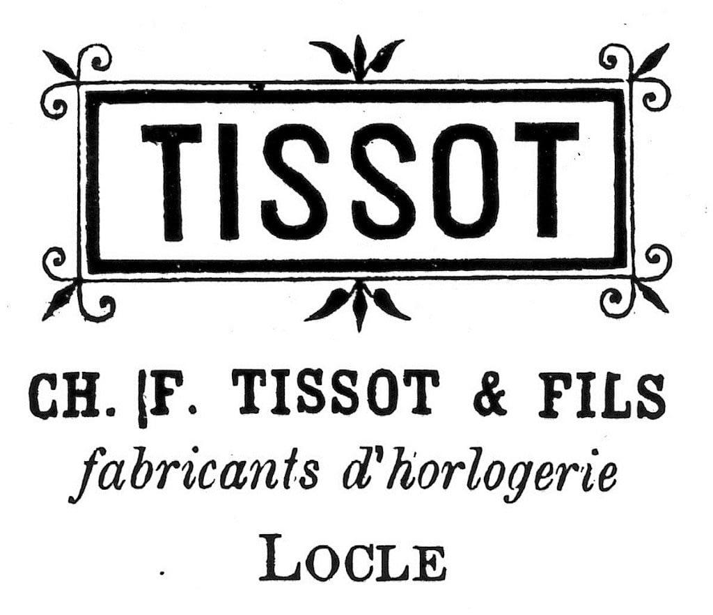 Logo ban đầu của Tissot vào năm 1808