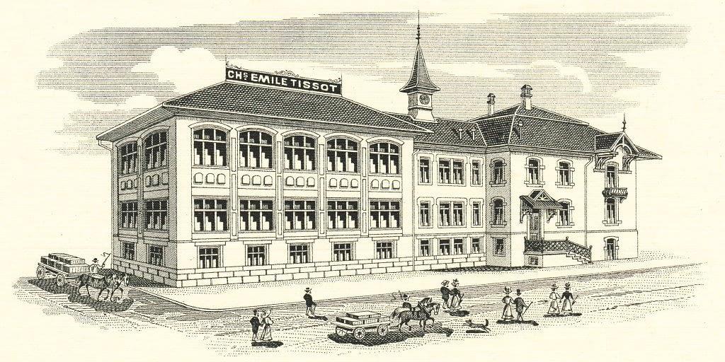 1907 Xưởng chế tác đồng hồ Tissot