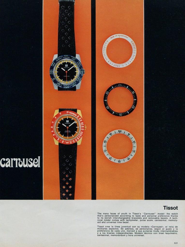 Đồng hồ TISSOT CAROUSEL
