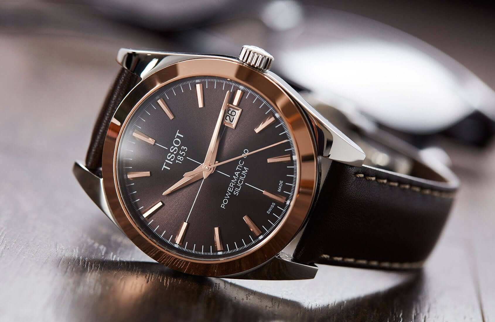 đồng hồ nam Tissot Gentleman Powermatic 80