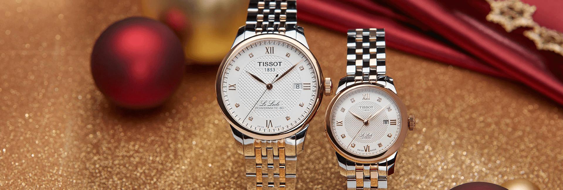 Giảm giá lên đến 40% cho đồng hồ Tissot chính hãng