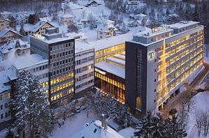 Trụ sở chính của Tissot tại Le Locle, Thụy Sỹ năm 2012