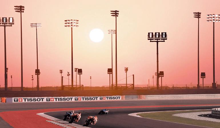 tissot đối tác thể thao của MotoGp