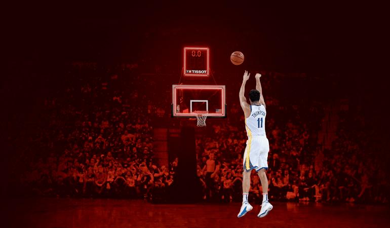 tissot đối tác của giải đấu NBA